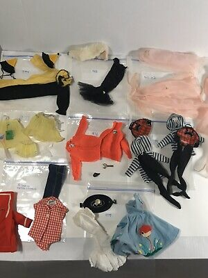 $ CDN27.13 • Buy Vintage 1960s Lot Of Barbie Doll Clothes # 965 # 975 # 979 # 976 # 982 # 973