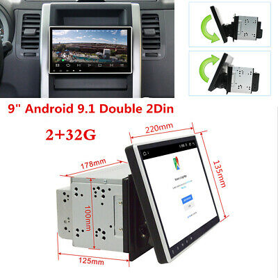 $ CDN216.97 • Buy 2Din 9  HD Car Stereo Radio MP5 Player Android 9.1 GPS WiFi 3G/4G Mirror Link