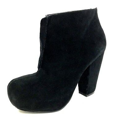 $ CDN2.63 • Buy Kelsi Dagger Womens Shoes Boots Size 6 M Brooklyn Mclain Black Suede Booties