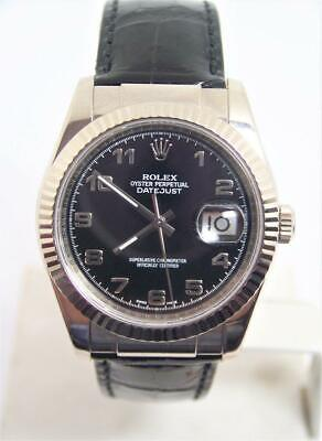 $ CDN14020.93 • Buy Vintage Mens ROLEX Oyster DATEJUST Automatic Watch Ref 116139* F Series EXLNT*