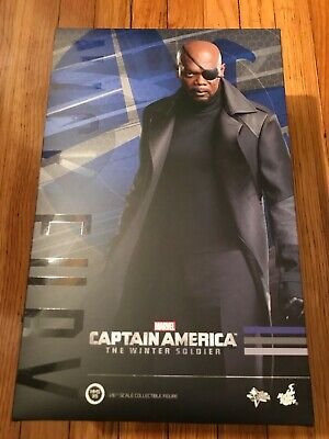 $ CDN238.17 • Buy Hot Toys 1/6 MMS315 NICK FURY Marvel Captain America The Winter Soldier