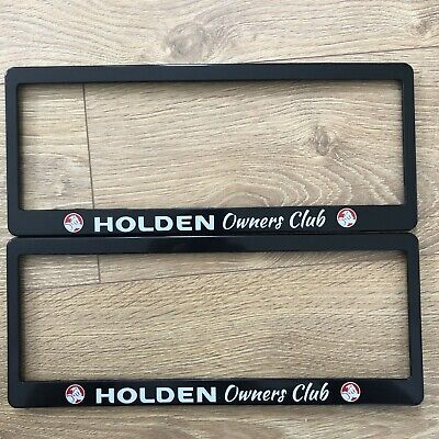 AU19.95 • Buy Holden Commodore Calais Berlina SS SSV SV6 Number Plate Surrounds Numberplate