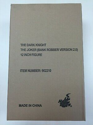 $ CDN869.61 • Buy Hot Toys MMS 249 Batman The Dark Knight The Joker (Bank Robber Version 2.0) SEAL
