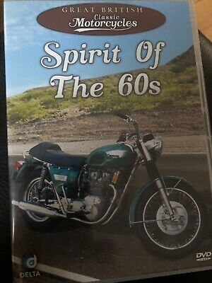Great British Classic Motorcycles Spirit Of The 60s Dvd • 1.99£