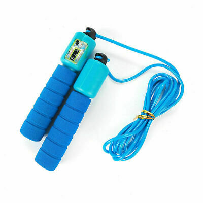 £7.99 • Buy Blue Kids Skipping Rope With Counter Children Exercise,Fitness Activity