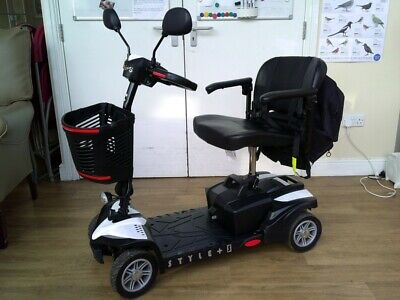 Drive Style Plus S Lightweight Mobility Scooter, Upgraded Battery And Extras • 450£