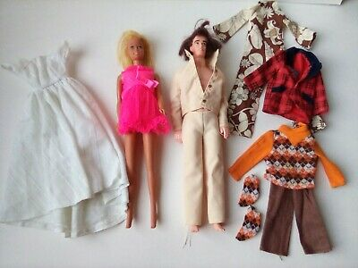 $ CDN6.93 • Buy Vintage Barbie And Ken Doll Lot, Clothes, Accessories AS IS 1960's