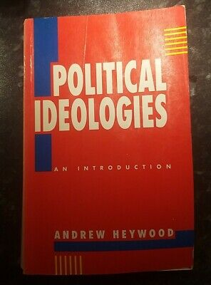 £8.90 • Buy Textbook On Political Ideologies By Andrew Heywood (Paperback, 1992)
