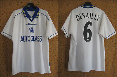 £67.65 • Buy Maillot Vintage Chelsea 1998 Desailly #6 Autoglass Blanc Jersey Football - L