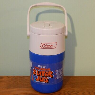 $10.25 • Buy Coleman Vintage Beverage Cooler Water Jug 5590 Rare Color Design Only Made 84-86