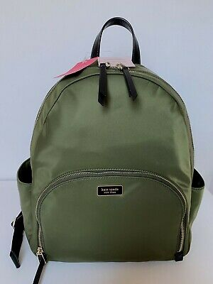$ CDN301.87 • Buy Kate Spade Dawn Large Backpack Laptop Green Nylon $299 Brand New Tags 100% Athnt