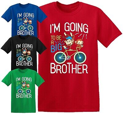 I'm Going To Be A Big BROTHER Baby T Shirt Pregnancy Announcement Kids Boys Top • 8.99£
