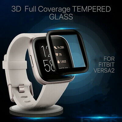 $ CDN10.68 • Buy For Fitbit Versa 2 Screen Protector Tempered HD Full Coverage Glass Guard