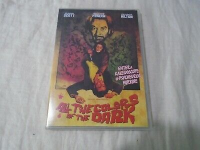 All The Colors Of The Dark R1 DVD Giallo Sergio Martino Edwige Fenech ShreikShow • 9.95£