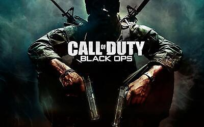 £19 • Buy Call Of Duty Black Ops Poster Canvas Picture Art Print Premium Quality