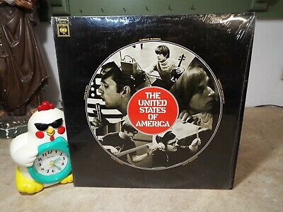 United States Of America Rare Psych Fuzz 1968 Columbia LP VINYL ALBUM • 186.39£
