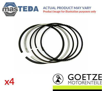 $ CDN128.55 • Buy 4x ENGINE PISTON RING SET GOETZE ENGINE 08-522700-00 I STD NEW OE REPLACEMENT