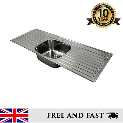 Double Drainer Stainless Steel Inset Kitchen Sink 1 Or Twin Tap Holes • 179£