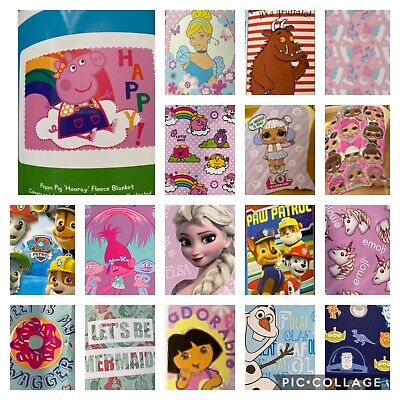 Childrens Fleece Blanket • 9.99£