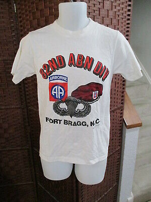 $ CDN25 • Buy Vintage 90's 82nd Airborne Division T Shirt Fort Bragg Adult SMALL