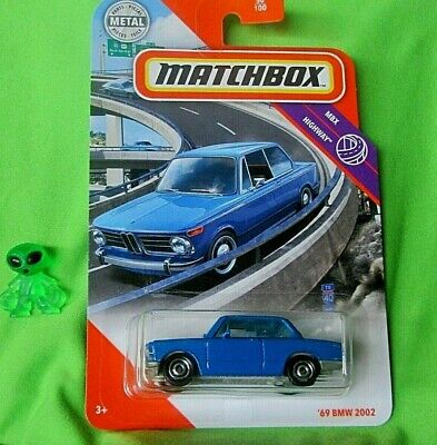 $6.25 • Buy Matchbox::2020 Highway 50/100::'69 Bmw 2002::1/64 Scale::👀
