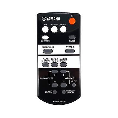 AU53.40 • Buy NEW Genuine Yamaha YAS-105 Soundbar Remote Control