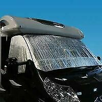 Universal Thermal Motorhome Windscreen Cover Fits Peugeot Boxer • 21£