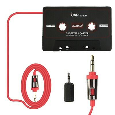 £3.59 • Buy Car Music Audio Cassette Tape Aux Adapter 3.5mm For IPhone MP3 Player
