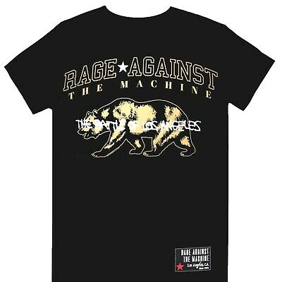 Rage Against The Machine RATM - Cali Bear Official Licensed T-Shirt • 15.99£