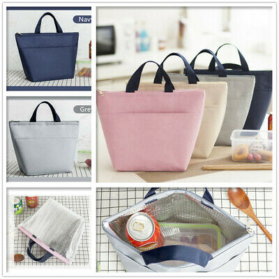 AU9.95 • Buy Thermal Insulated Cooler Waterproof Picnic Work Lunch Bag Lunch Box Storage New