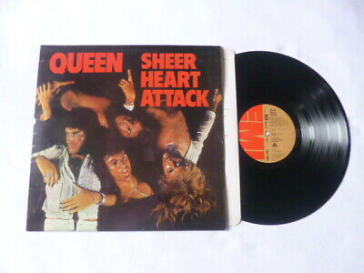 Queen ~ Sheer Heart Attack ~ Original Emi 1974 Uk Rock Vinyl Lp ~ Great Audio • 49.99£