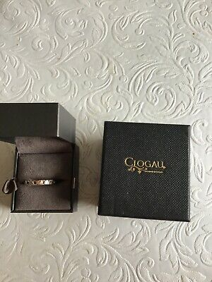 Welsh Clogau Silver & Rose Gold Ring In Box • 63£