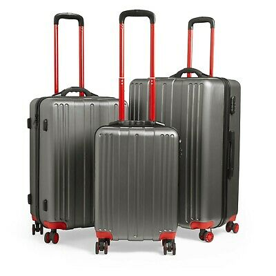 VonHaus Lightweight Luggage Suitcase Set Hard Shell 3pc Cabin Travel Bag • 119.99£