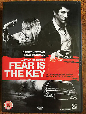 £16.50 • Buy Fear Is The Key DVD 1972 Cult Crime Movie Thriller Classic W/ Barry Newman