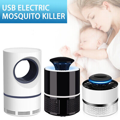 AU10.99 • Buy USB Mosquito Insect Killer Electric Lamp LED Light Fly Zapper Bug Trap Catcher