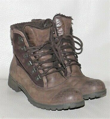 Ladies Women Clarks Gore-tex Walking Boots Size 4 D Brown • 28£