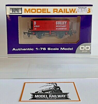 Dapol 00 Gauge - D Colley Coal Wagon Moorhampton Limited Edition Hereford Models • 12.99£