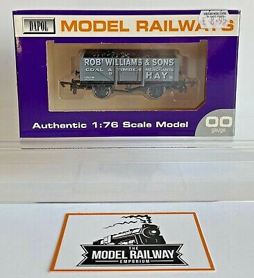 Dapol 00 Gauge - Rob Williams Coal Timber Wagon Limited Edition Hereford Models • 19.99£