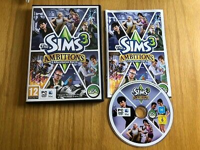 The Sims 3 Ambitions Expansion Pack - PC DVD Complete • 3.99£