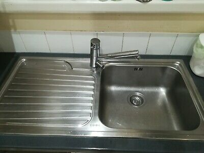 Franke Stainless Steel Sink 100 X 50cm Total Size • 5£