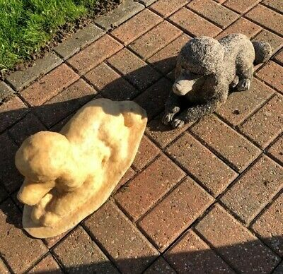 £49.99 • Buy Latex Mould Only To Make Poodle Dog Garden Ornament Statue Concrete IN STOCK D