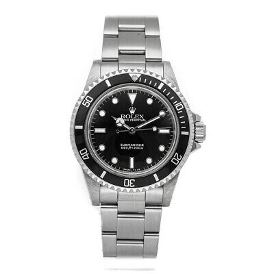 $ CDN12151.41 • Buy Rolex Vintage Submariner No Date Auto Steel Mens Oyster Bracelet Watch 5513