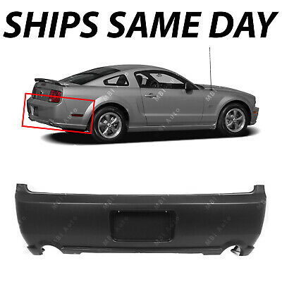$239 • Buy NEW Primered - Rear Bumper Cover Replacement For 2005-2009 Ford Mustang GT 05-09