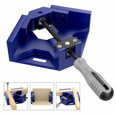 $14.75 • Buy Woodworking Tool 90 Degree Welding Corner Clamp Right Angle Adjustable Aluminum