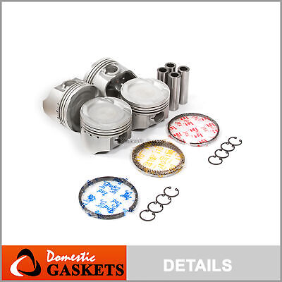 $65 • Buy Pistons And Rings Fit Suzuki Sidekick X90 Geo Tracker 1.6L