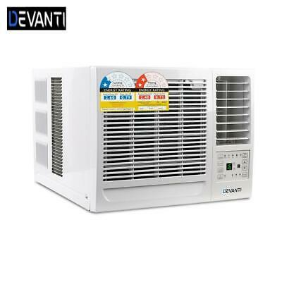 AU451 • Buy RETURNs Devanti Window Air Conditioner Portable 2.7kW Cooler Fan Cooling Only