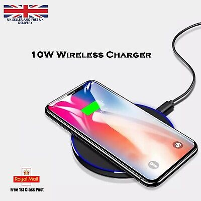 $ CDN8.65 • Buy Luxury Qi Fast Wireless Charger For Samsung Galaxy S20 S10  S9 S8 S7 Note 9 8