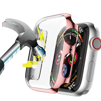 AU7.59 • Buy Hard PC Full Cover Screen Protector For Apple Watch Series 6 5 4 3 38/40 42/44mm