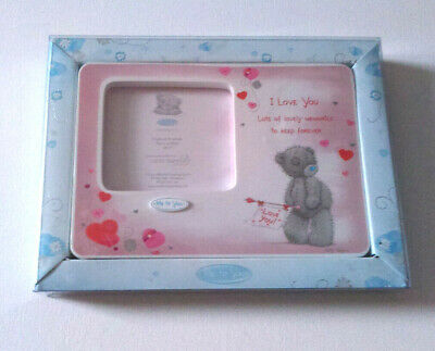 TATTY TEDDY I Love You PHOTO FRAME 75 X 65mm Aperture LOVELY MEMORIES FOREVER • 4.79£