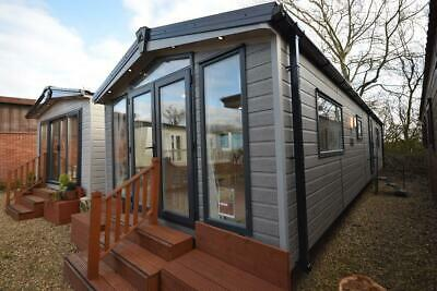2021 NEW Mobile Log Cabin | Sunrise Lodge DLX 3 Bed Garden Home | No Planning • 32,995£